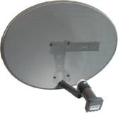 Free to air sagellite dish